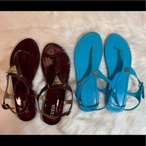 NY&C and Guess Bundle 2 pair of sandals